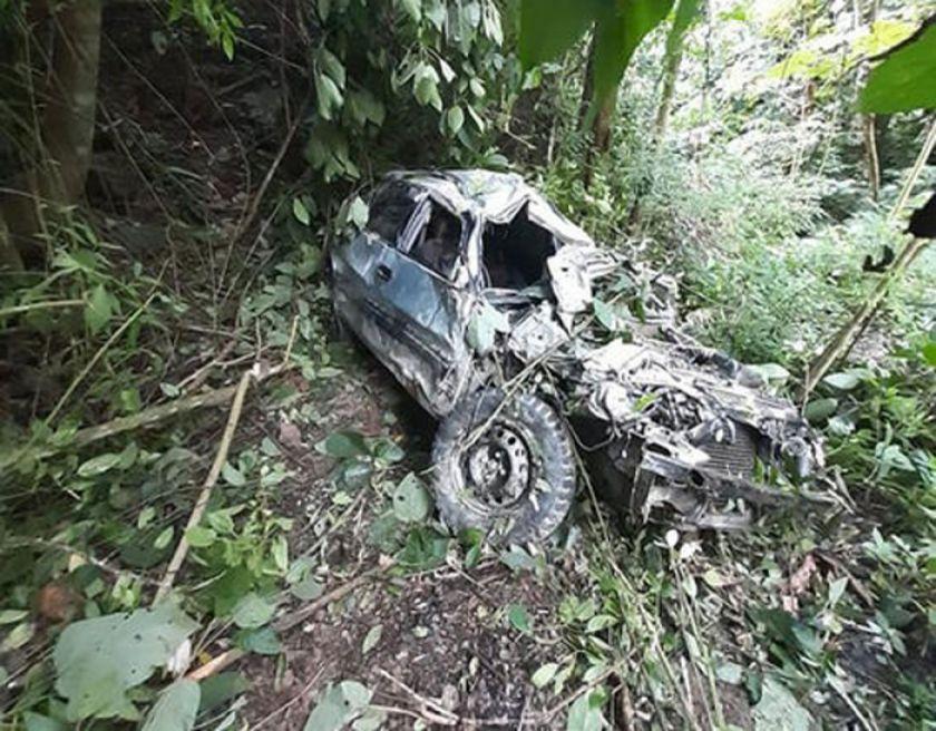La Asunta: vehículo cae a un barranco y deja tres jovenes fallecidos