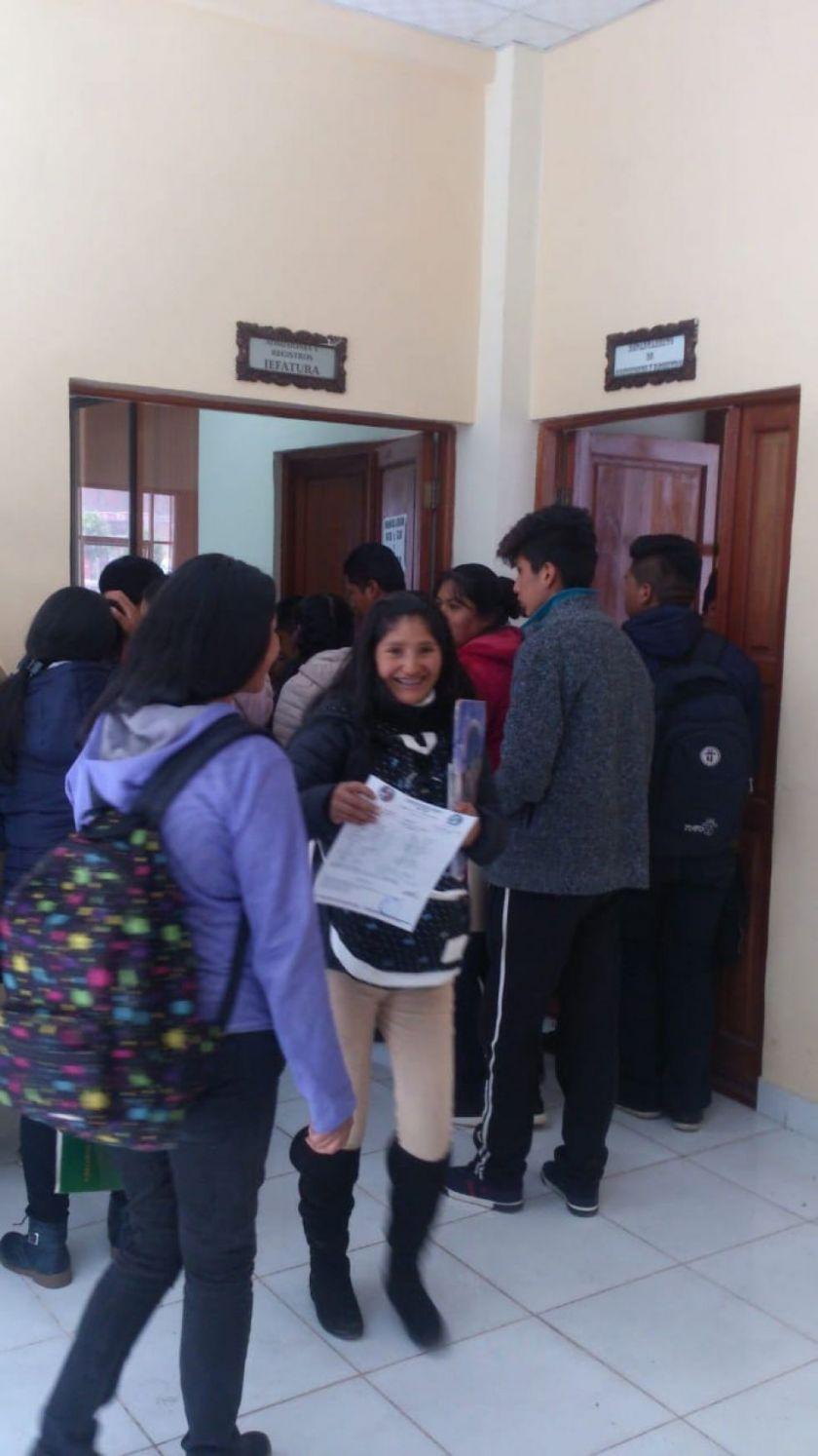 La UATF se alista para el examen de ingreso el 18 de diciembre