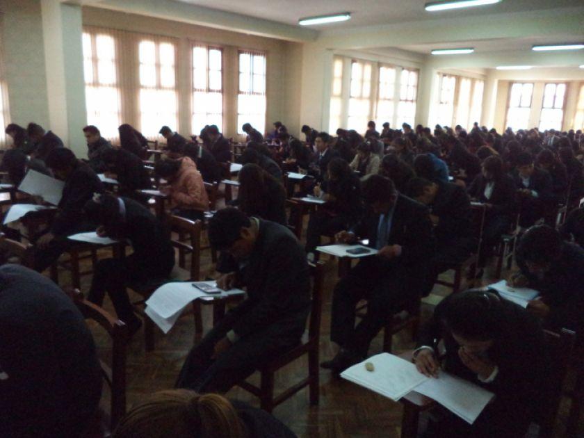 Medicina y Derecho de la UATF tendrán su examen de ingreso