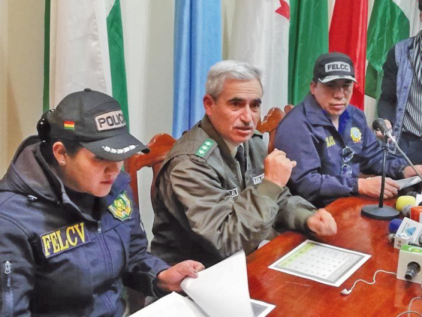 La Policía enfrentará al crimen y la violencia de manera integral en Potosí