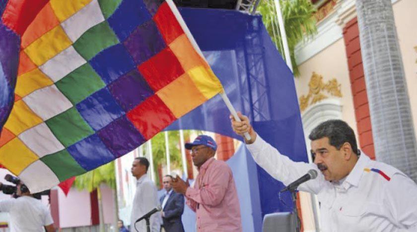 """Nicolás Maduro dice que se """"está cocinando"""" el regreso de Evo a Bolivia"""