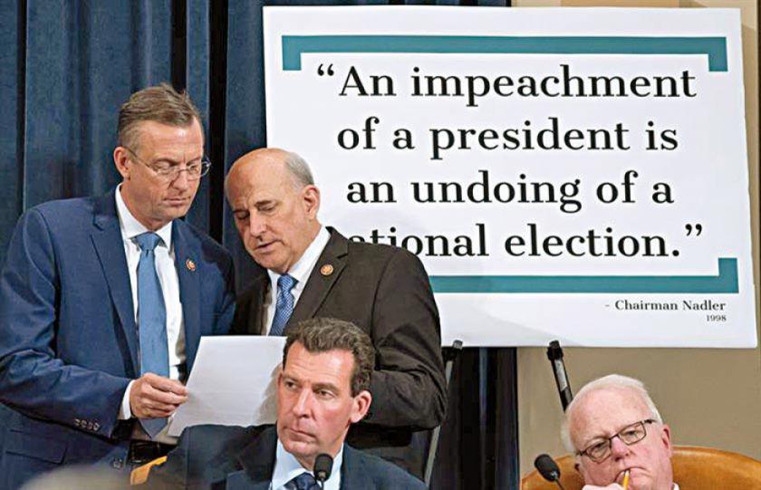 Trump descalifica denuncia demócrata