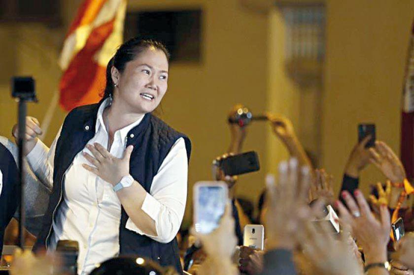 El Constitucional ratifica libertad de Keiko Fujimori