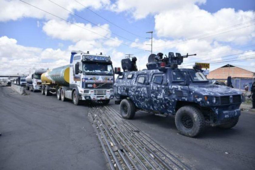 El Gobierno reitera que las FFAA no usaron sus armas durante los conflictos postelectorales