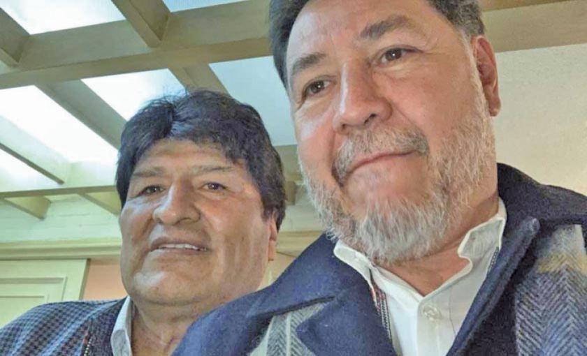 México: diputado pide aporte a sus colegas para Morales