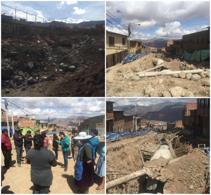 Piden recojo de escombros en la zona de San Gerardo