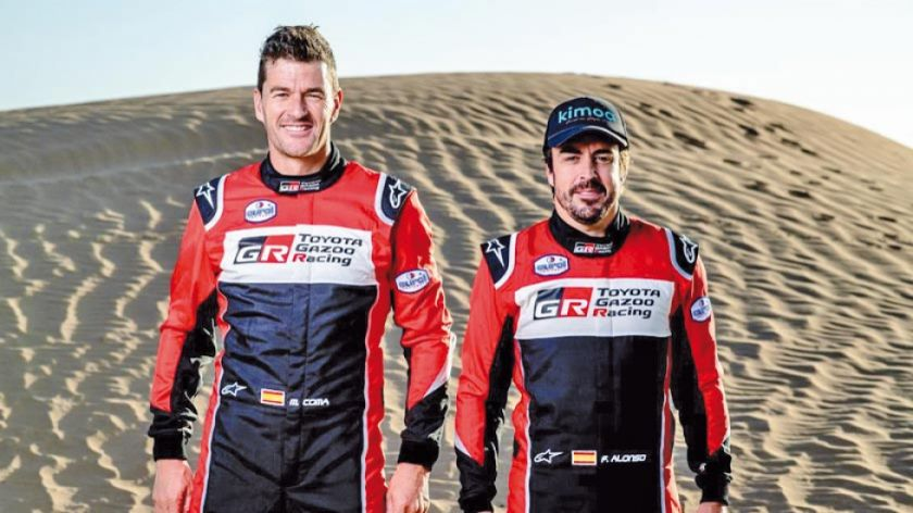 "Alonso: ""estamos listos para el Dakar"""