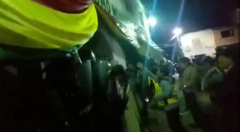 Puna vivió momentos tensos anoche (incluye videos)