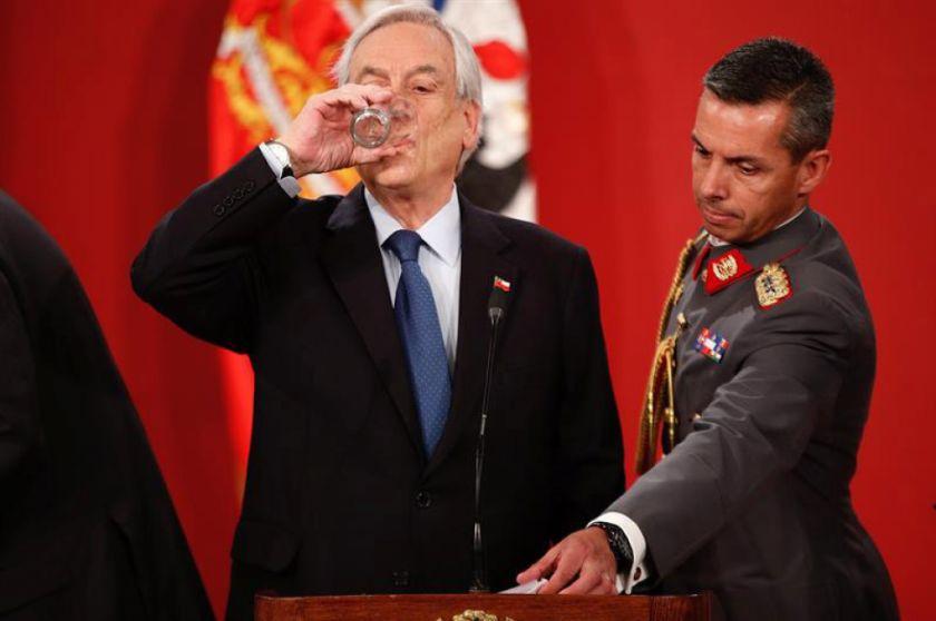Piñera se salva de juicio por violaciones a DDHH