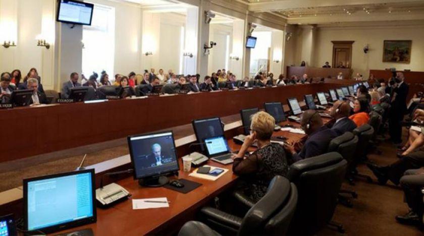 Delegación boliviana rechaza en la OEA que existió un golpe