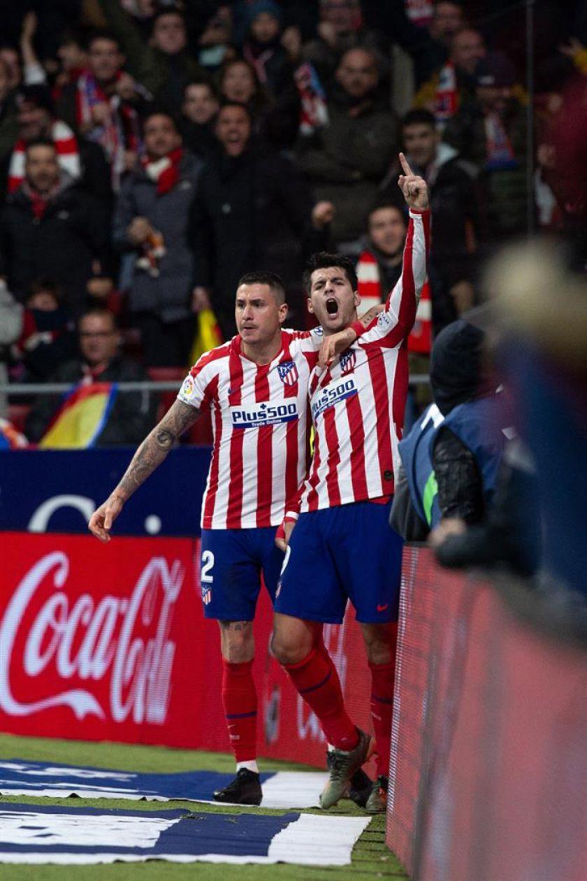 Atlético gana a Osasuna y se reactiva en LaLiga