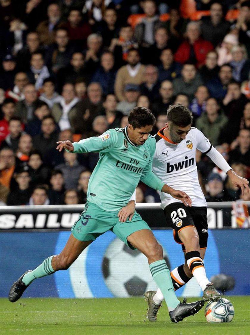 Real Madrid salva un punto ante Valencia