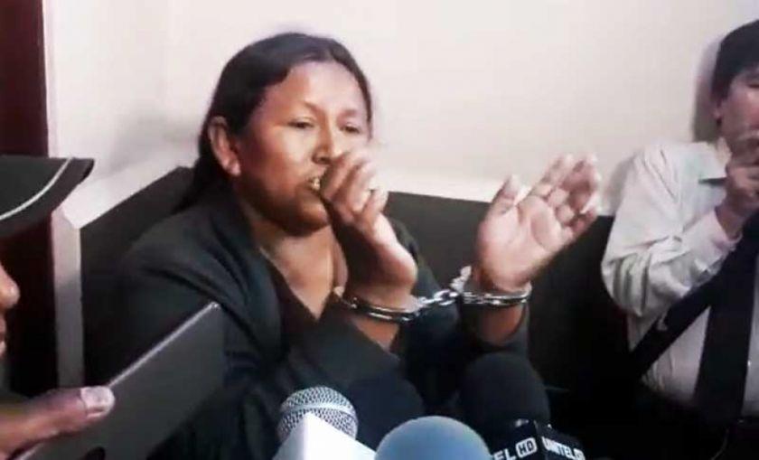 Juez decide que Achacollo vuelva a la cárcel por el caso Fondioc