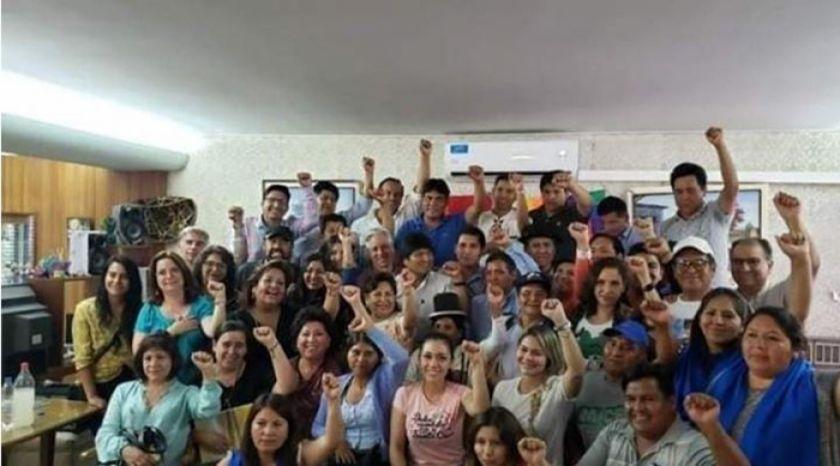 Evo Morales y el MAS definirán a sus candidatos en Argentina