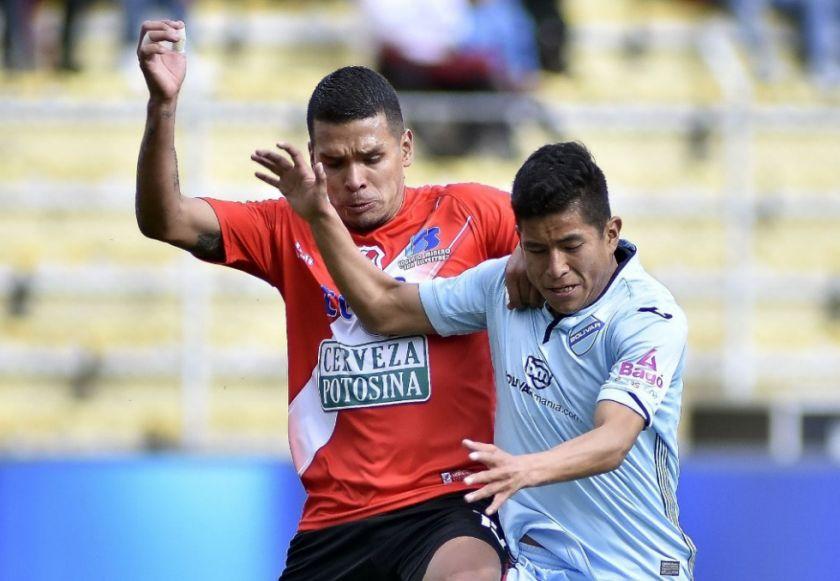 Nacional Potosí cayó 2-1 contra Bolívar