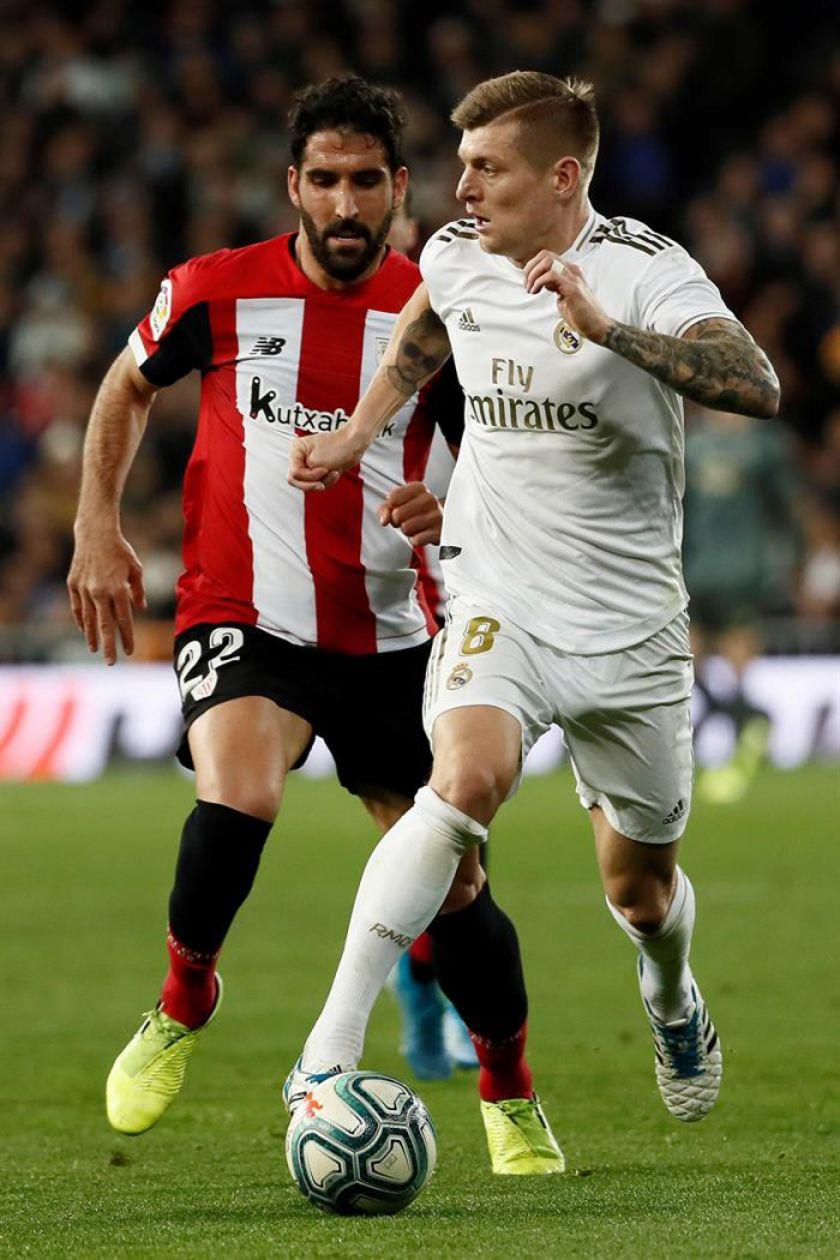 Real Madrid empata sin goles ante Athletic Club