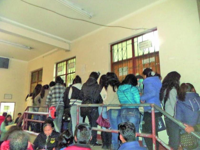 La UATF matriculará a los alumnos nuevos tras receso