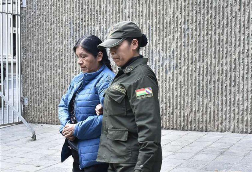 Rechazan pedido de cesar la detención de Choque