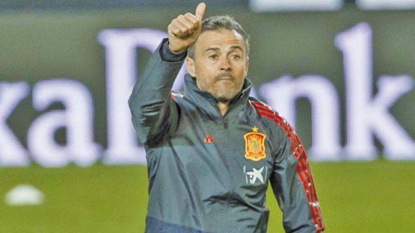 Luis Enrique ve favorita a España para Eurocopa 2020