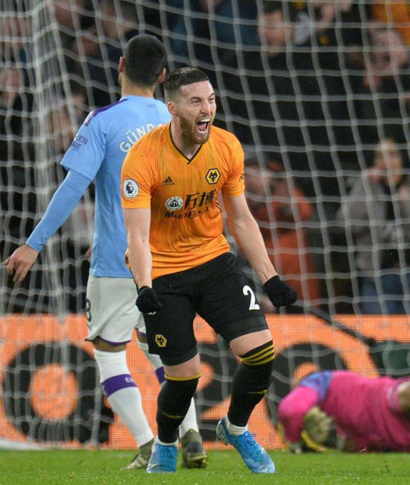 Manchester City cae ante el Wolverhampton