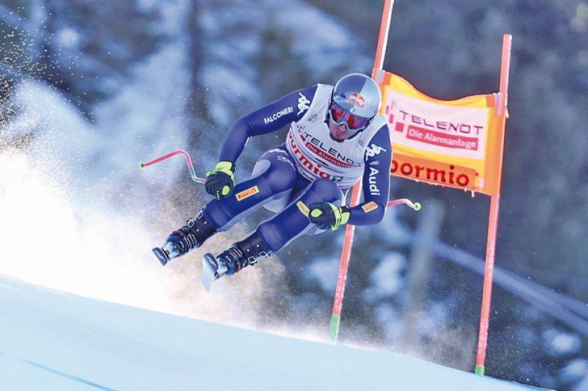 Dominik Paris repite victoria en el descenso de Bormio