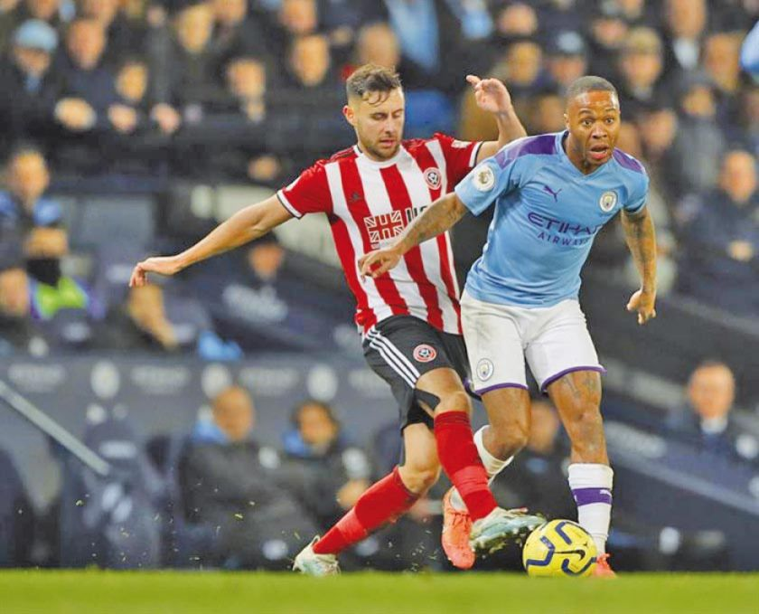Manchester City sufre para vencer a Sheffiled United