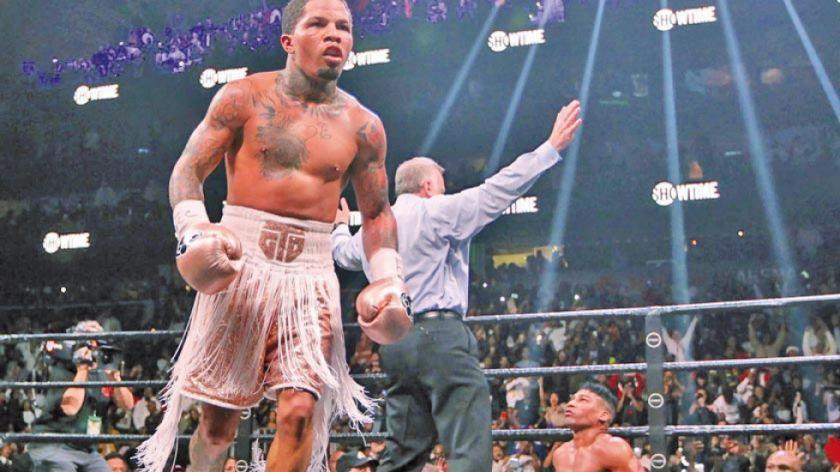 Davis noquea a Gamboa y se corona campeón