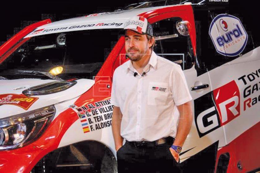 Alonso es el primer campeón de Fórmula 1 en correr el rally