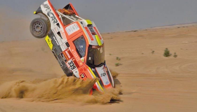 Martin Kolomy es la primera baja del Dakar