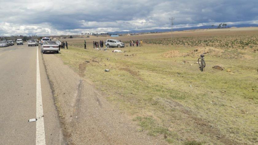 Integrantes de una familia mueren en vuelco de tonel