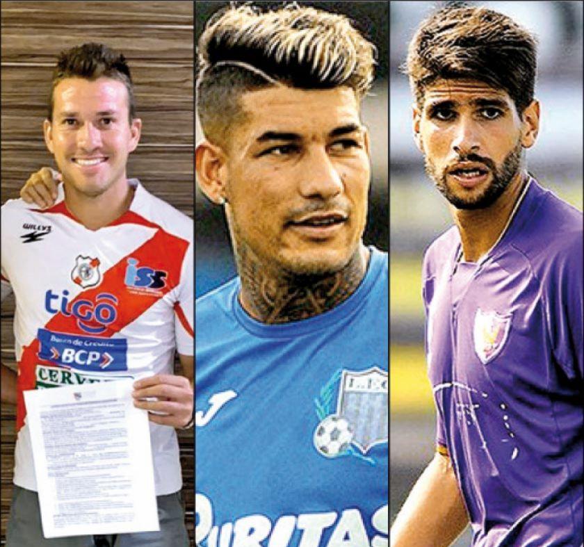 Nacional suma tres refuerzos más para esta temporada