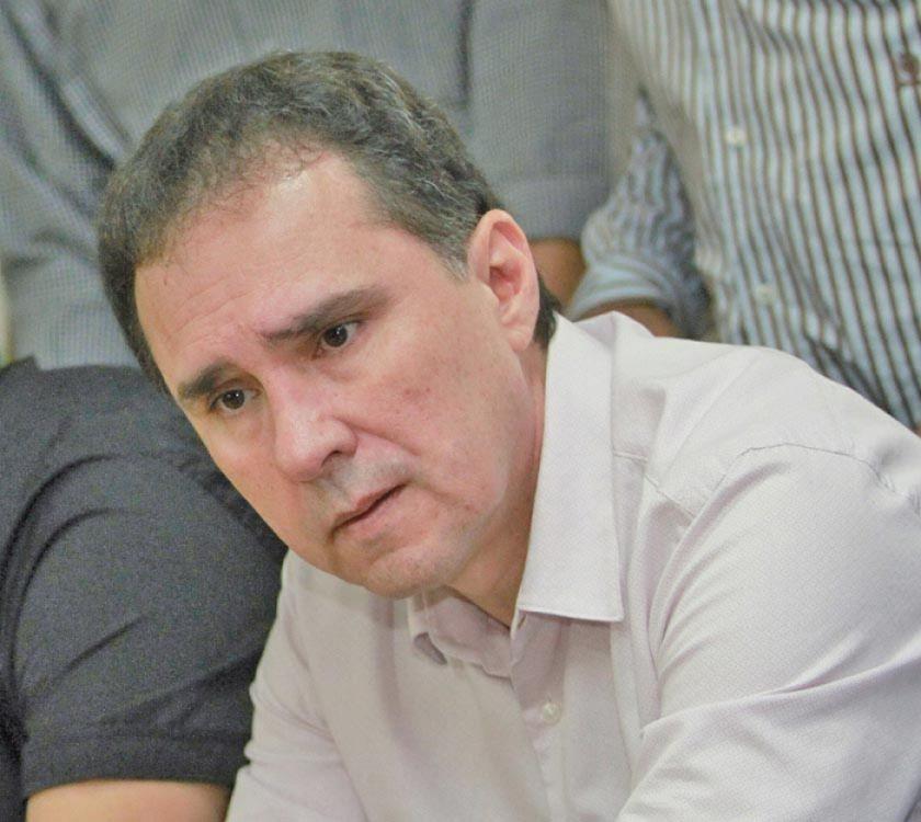 """Blanco llamó """"dictador"""" al titular de la FBF"""