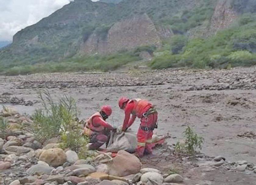 Hallan el segundo cuerpo sin vida de los tres desaparecidos en Sorata