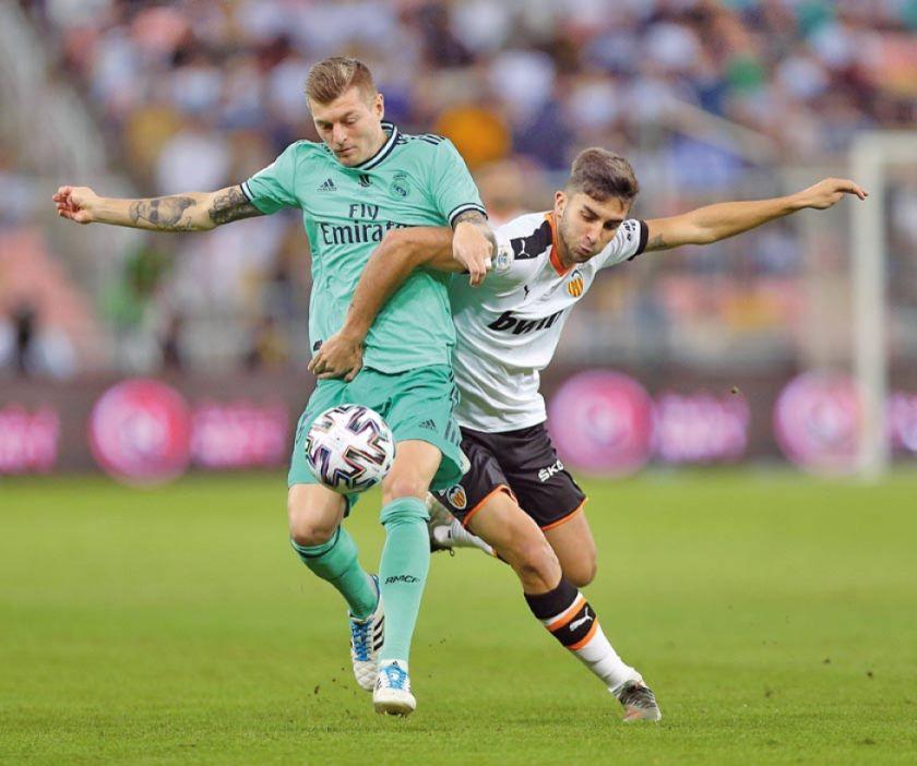 Real pasa a la final de la Supercopa