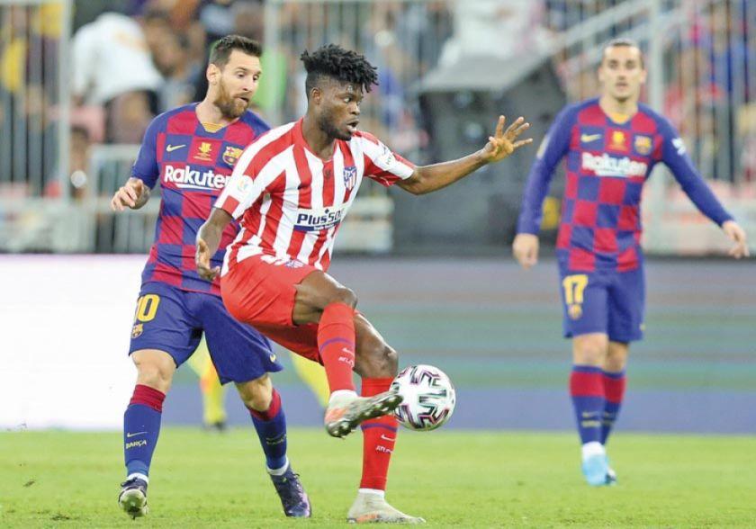 Atlético Madrid vence a Barcelona