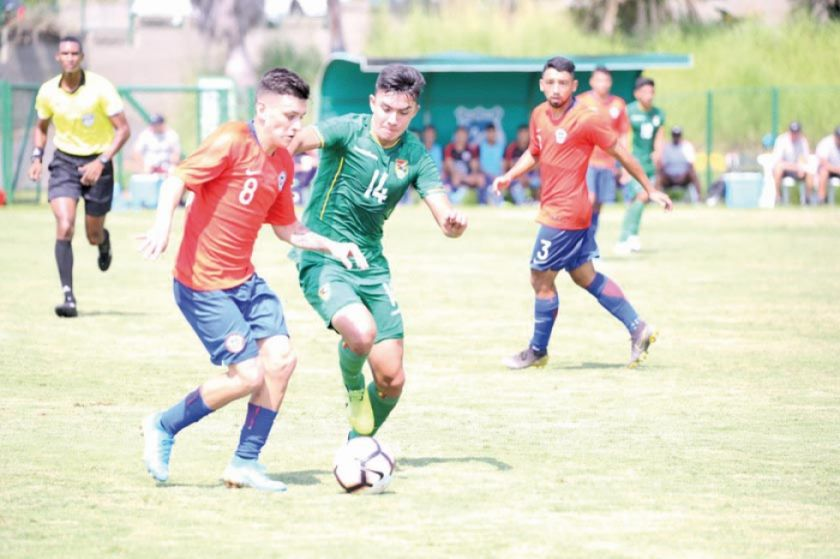 Bolivia cae en el amistoso ante Chile