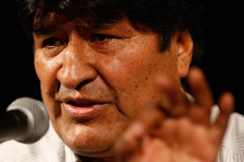 Evo habla de organizar milicias armadas cuando vuelva a Bolivia