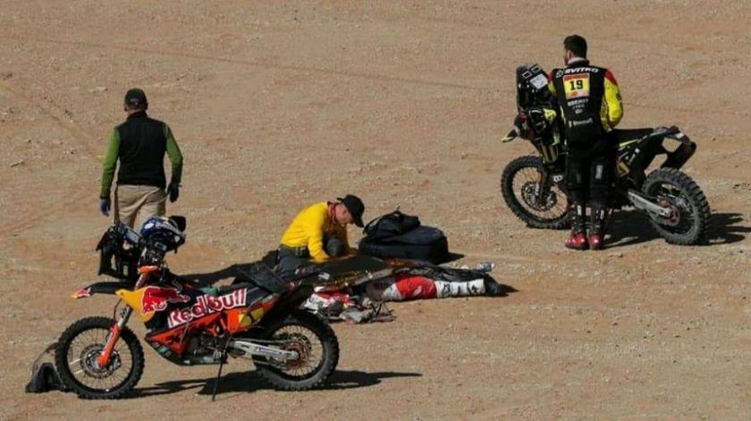 Paulo Gonçalves, el 25º participante fallecido en la historia del rally Dakar