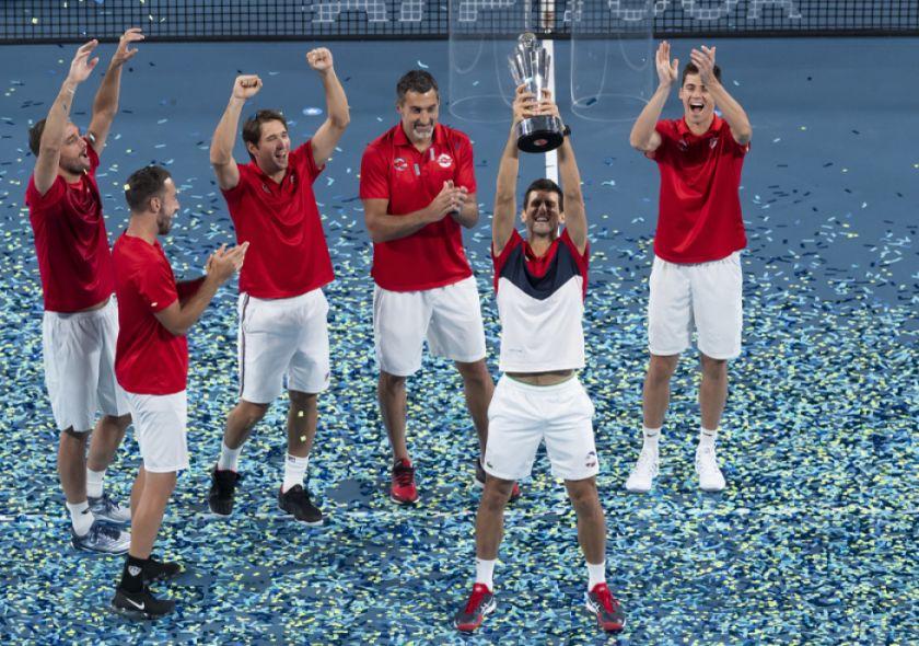 Djokovic acribilla a España en la final