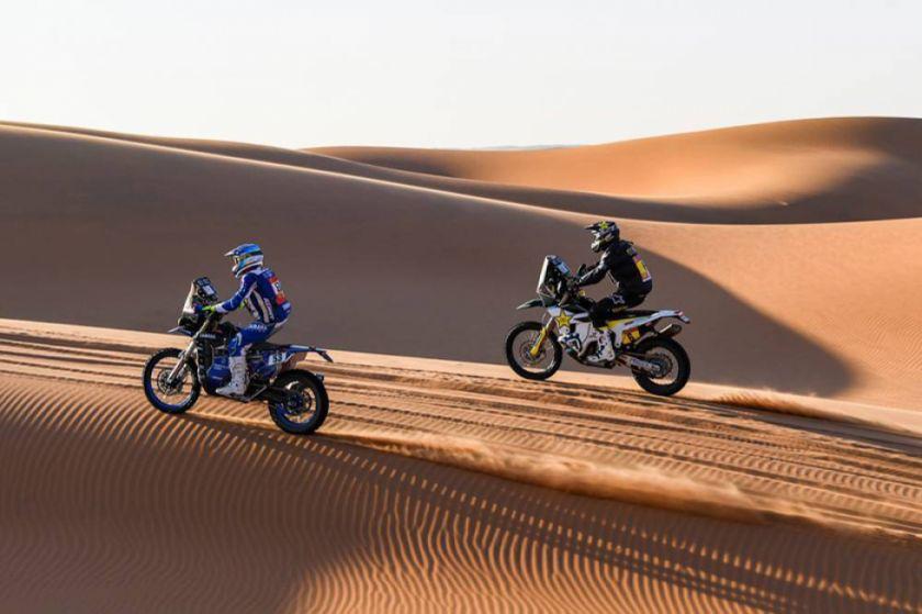 Cancelan la octava etapa del Dakar para motos y quads