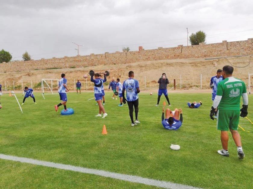 Real Potosí intensifica sus entrenamientos
