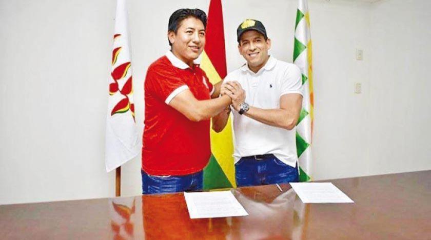 MNR ofrece su sigla a Camacho y Pumari