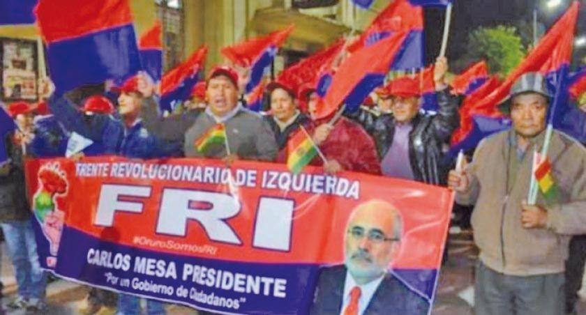 """FRI expulsa a Félix Santos por firmar """"alianza"""" con Camacho"""