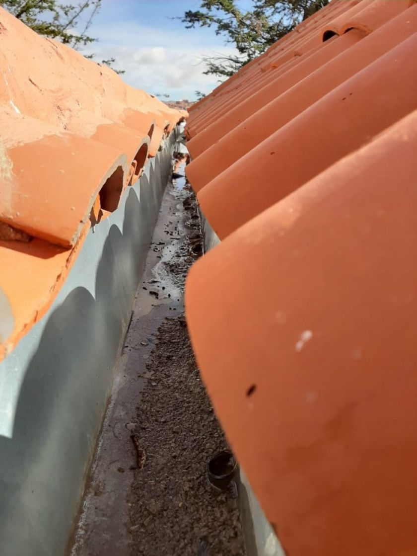 Colocarán alero temporal en techos de San Pedro