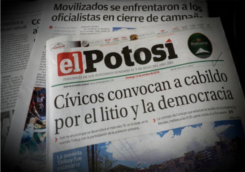 El Potosí se suma al Gran Debate  Presidencial 2020