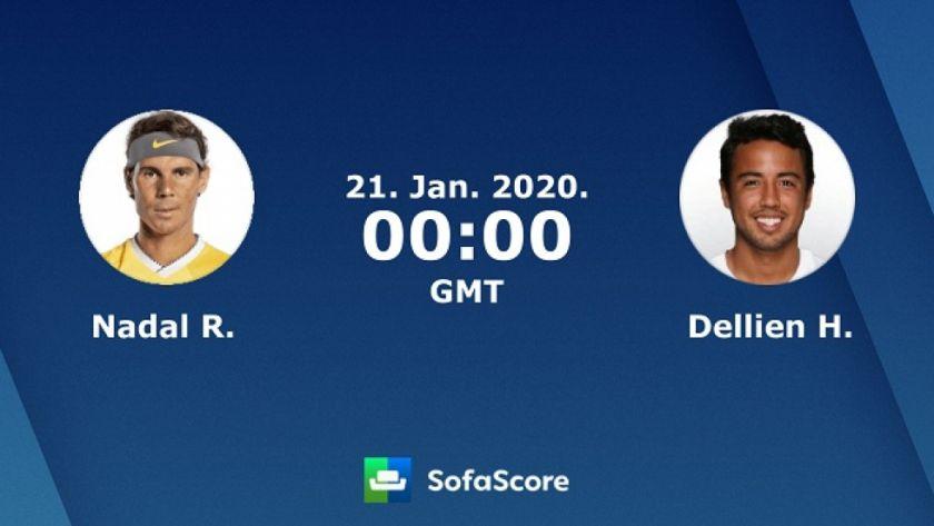 El tenista boliviano Hugo Dellien se enfrentará contra Rafael Nadalen primera ronda