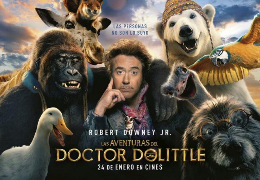 """Llegan a las salas de cine """"Bad boys for Life"""" y """"Dolittle"""""""