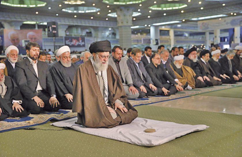 El líder supremo de Irán convoca a la resistencia
