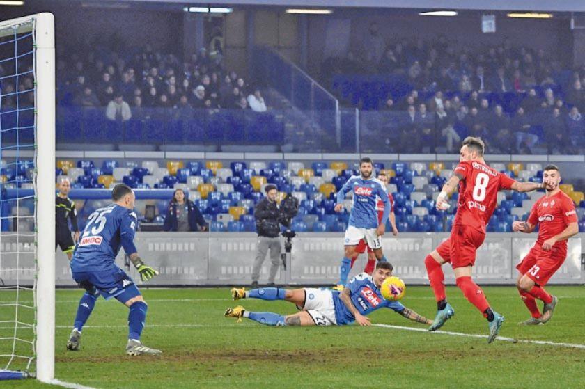 """Nápoles pierde ante el Fiorentina en el """"San Paolo"""""""