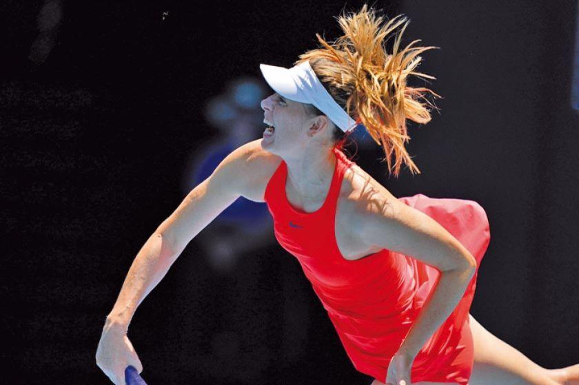Sharapova cae en la primera ronda